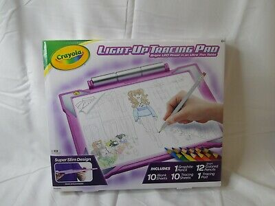 Crayola Light Up Tracing Pad Pink Toys Gift For Girls Ages 6 10 71662449087 Ebay
