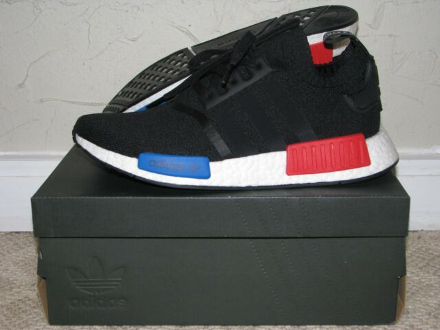 4d30f3a286533 Buy adidas NMD R1 PK OG Primeknit Black Red Blue 100 Authentic Size ...