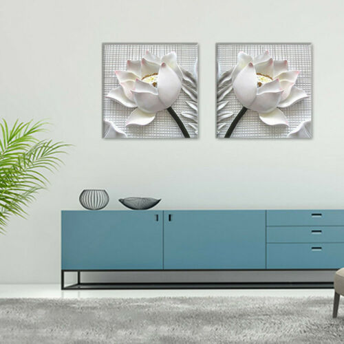 Unframed Modern Art 2pcs Oil Painting Print Canvas Picture Home Wall Room Decor