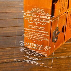 50-Elegant-Engraved-Damask-Acrylic-Wedding-Invitations-Favors-Birthday-Gift