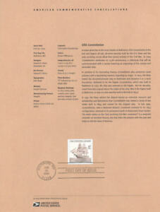 0423-37c-USS-Constellation-Stamp-3869-Souvenir-Page