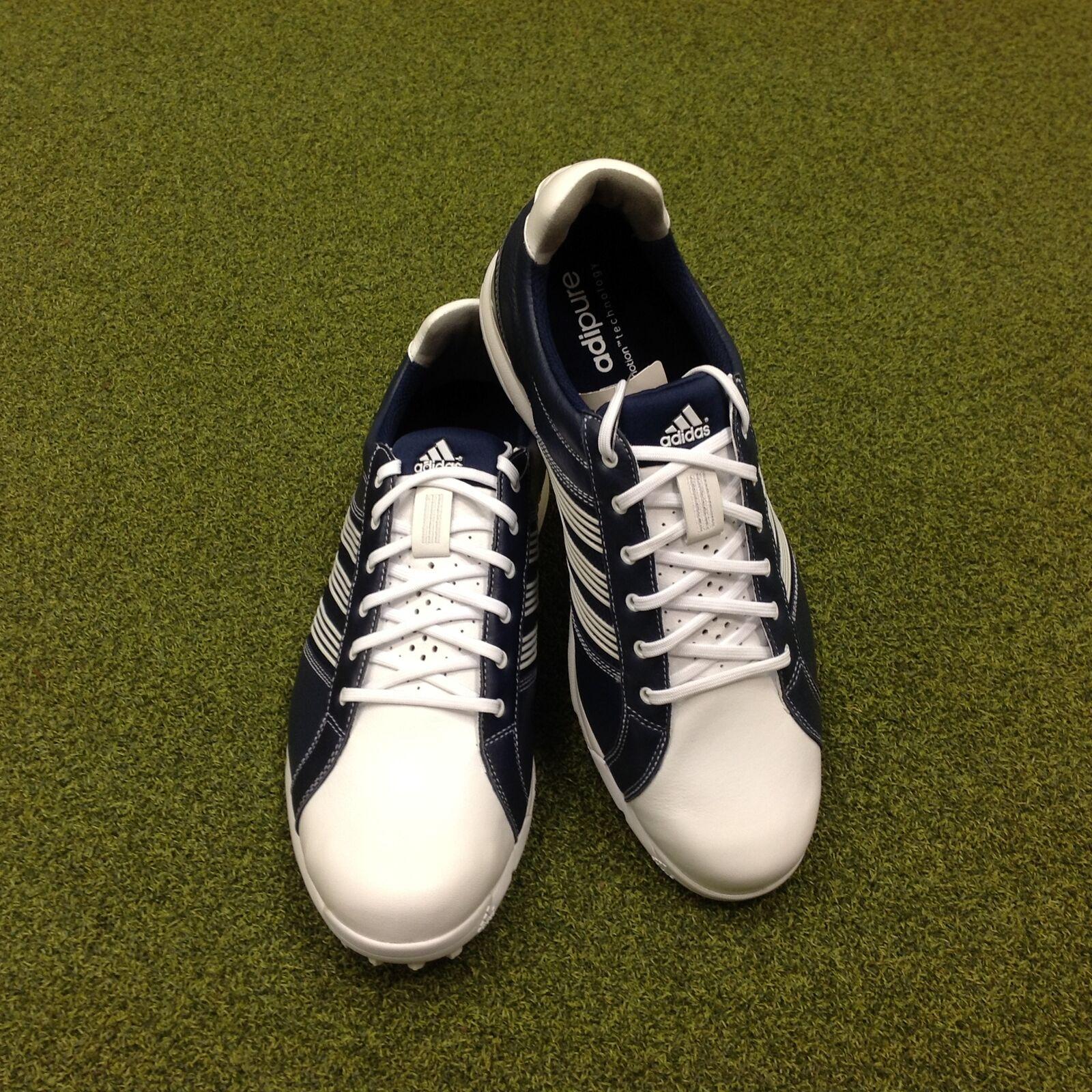 NEW Adidas Adicross Tour Leder Golf Schuhes - UK 9 Größe 8.5 - US 9 UK - EU 42 2/3 c26823