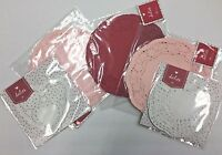 5 Packs Valentine's Day Lot Doilies Red Pink White Round Heart Baking Crafts