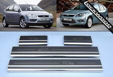 Ford Focus Mk2 (2005 - 2010) las placas de Umbral Protectores \ Kick