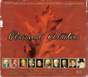 NEW-CD-Classical-Masters-Box-Set-10-Discs-Laserlight-11-Hours-Classical-Music