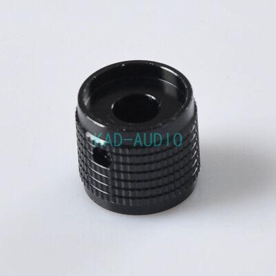1PC 30x17mm Black Aluminium AMP volume potentiometer Knob for Guitar Amp