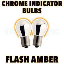2 Chrome Indicator Bulbs 382 BMW 5 Series E39 1995-00 s