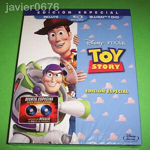 TOY-STORY-DISNEY-PIXAR-BLU-RAY-DVD-NUEVO-Y-PRECINTADO-INCLUYE-FUNDA-DE-CARToN