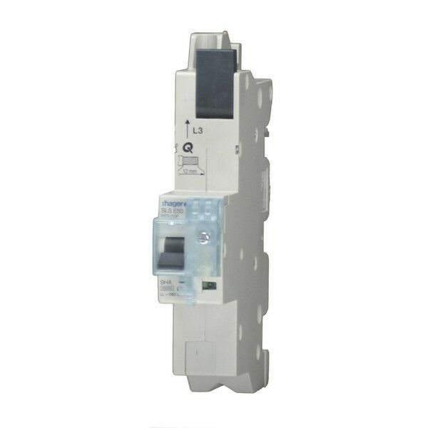 HAGER SLS Schalter 1x 25A HTS125E mit Adapter HTS 125 E | Online Outlet Store