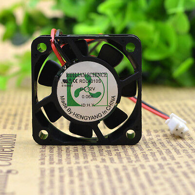 1 PCS XINRUILIAN Fan  RDL4010S  DC 12V  0.06A 2 Pin 40X40X10mm