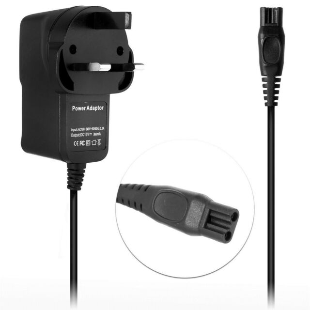 UK Power Charger Lead Cord For PHILIPS SHAVER Series 3000