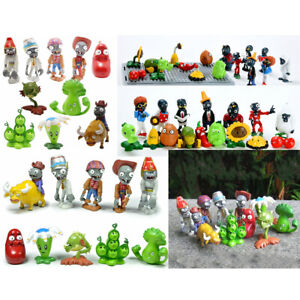 Plants-vs-Zombies-PVC-Action-Figures-Birthday-Party-Cake-Topper-Toys-Gift-Set