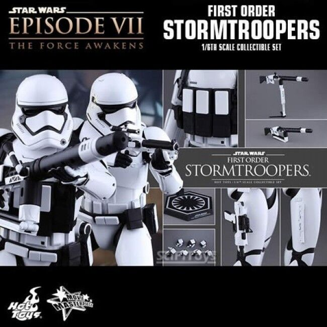 Hot Toys 1 6 6 6 Star Wars The Force Awakens First Order Stormtrooper MMS 319 CHEAP b816cc