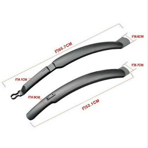 Cycle-Mudguards-Front-amp-Rear-Mountain-Bike-Bicycle-Mud-Guards-Set-WG
