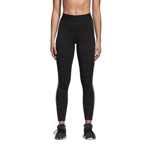 f4bcb3790cbc Adidas Women Tights Running Sport ID Training Work Out Black Run Gym ...