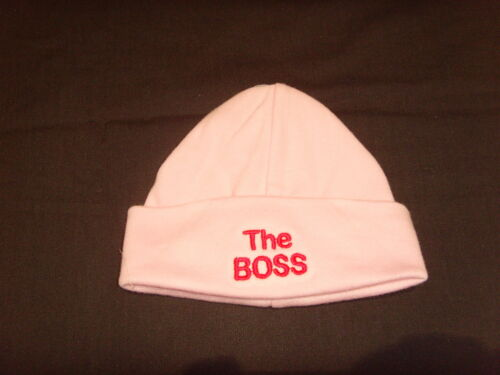 Bebé 100/% Algodón Bordado Sombrero personalizadas con el dicho el jefe