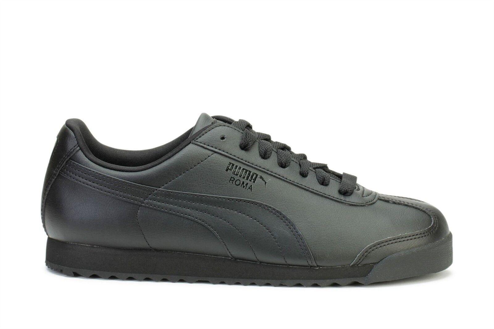 Puma hommes Classic Sneakers Roma Basic noir noir 353572-17