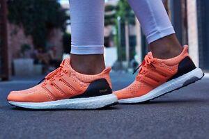 differently e8f18 b9fd4 Image is loading Adidas-Ultra-Boost-1-0-W-Flash-Orange-