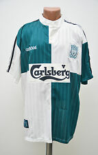 LIVERPOOL ENGLAND 1995/1996 AWAY FOOTBALL SHIRT JERSEY MAGLIA ADIDAS