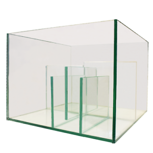 Aquarium-Marine-Reef-Fish-Tank-Glass-Nano-Sump-Refugium-50L-40-6-x-40-6-x-30-5cm