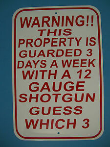 12x18 Commercial grade vinyl Private Property Warning sign