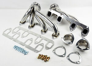 Ford-Big-Block-FE-330-360-390-428-Stainless-Steel-Shorty-Headers-Exhaust