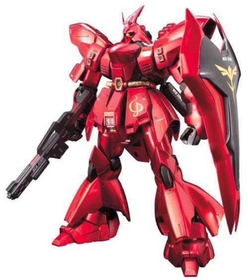 MG 1 100 MSN-04 Sazabi metallic coating version Mobile Suit Gundam  Gunpla F S