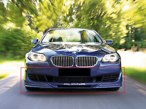 BMW 5 SERIES F10 F11 FROM 2010 ALPINA STILE SPOILER DIFFUSORE PARAURTI IN AVANTI
