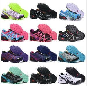 Salomon Women/'s Speedcross 3 Trail Running Shoes Trainers Sport Hiking Athletic