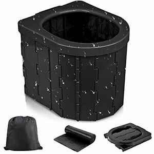 Yarrashop Portable Toilet Camping Toilet - Portable Toilet for Camping Outdoo...