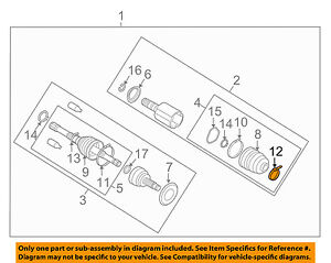 Swell Subaru Oem 05 14 Outback Axle Differential Rear Outer Boot Band Wiring Digital Resources Llinedefiancerspsorg