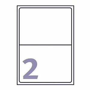10 x 21 UP PER PAGE SHEET PRINTER LABELS A4 Address Self Adhesive Sticky