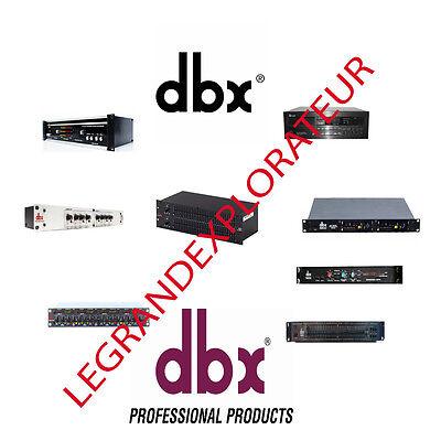 on dbx 166 schematic