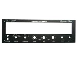 Replika-der-Abdeckplatte-Frontpanel-fuer-das-Marantz-2275-Empfaenger-BLACK
