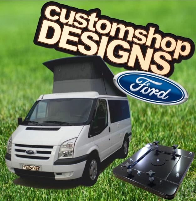 Ford Transit Camper Day Van Double Seat Swivel Base Rhd Uk Model For Sale Online Ebay