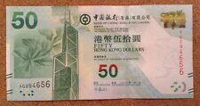 Hong Kong Banknote. 50 Dollars. Bank Of China. Uncirculated.