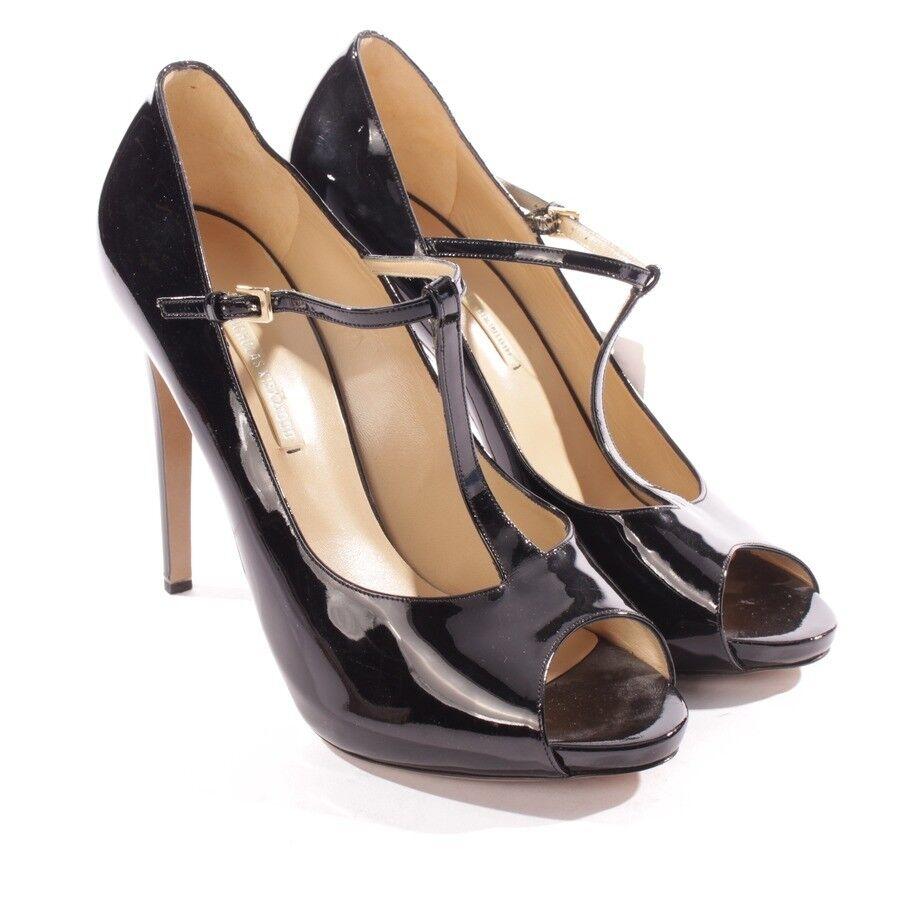 Nicholas kirkwood de salón talla d 40 negro negro negro zapatos señora tacón alto zapatos  productos creativos