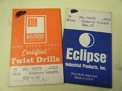 Irwin 80120 #20 HSS Wire Gauge Jobber Length Drill Bit