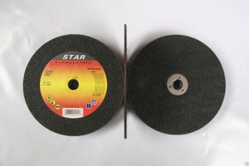 "41 Metal Cut Off Wheels 25pc 4/"" X 3//64/"" X 3//8/"" Type 1"