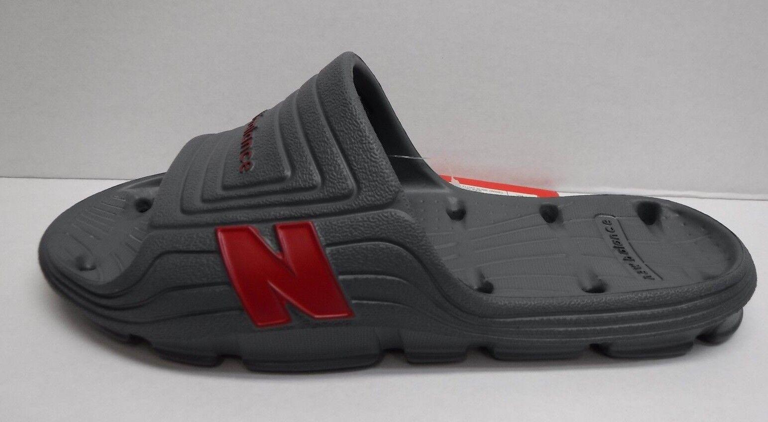 Sandali e scarpe per il mare da uomo New Balance Size 8 Gray Slides Sandals New uomos Shoes