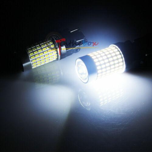 2pcs White LED Daytime DRL Driving Lights Bulbs For 2018-2019 Jeep Wrangler JL