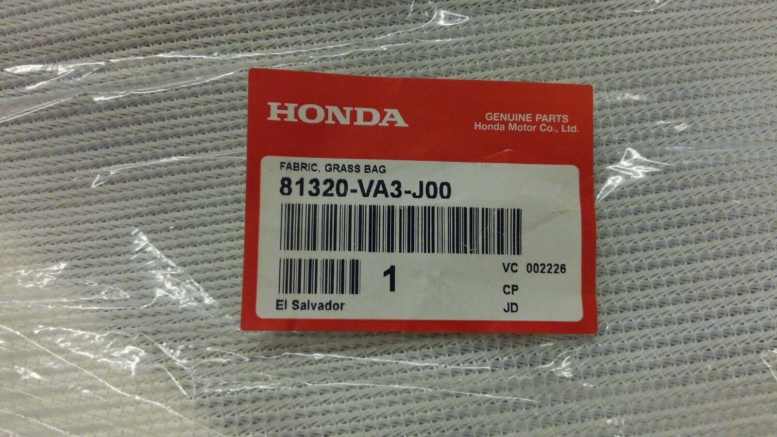 Paño de Honda 81320-VA3-J00 bolsa receptor para HR215