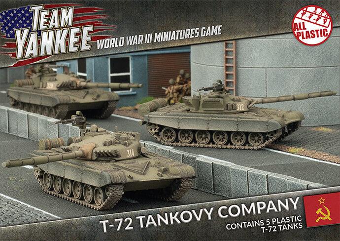 T-72 Tankovy Company (Plastic) - Team Yankee - TSBX01 Flames of War