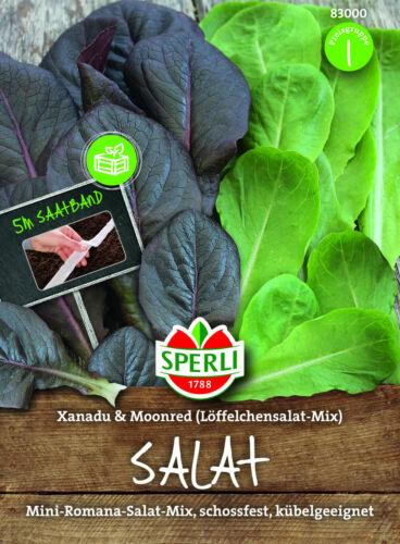 Mini-Romana-Salade-Lactuca sativa salade bac /& Hochbeet 5 m saatband 83000