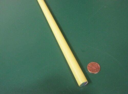 """Round Rod 1//2/"""" Diameter x 60/"""" Length Hydlar Z"""