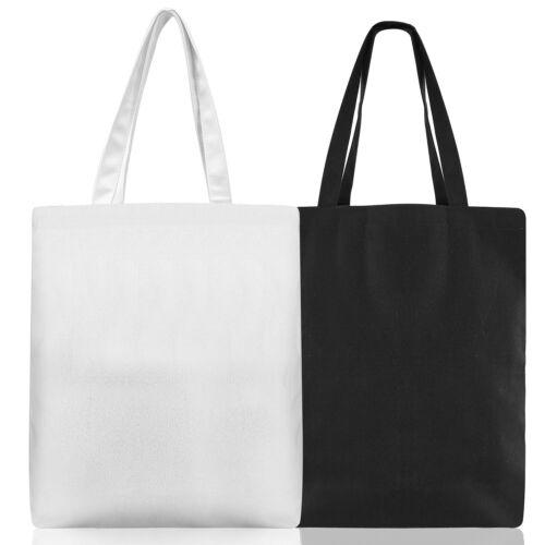 Canvas Tote Bag Crafts Shoulder Handbag Purse Travel Grocery Beach Shopping Bag
