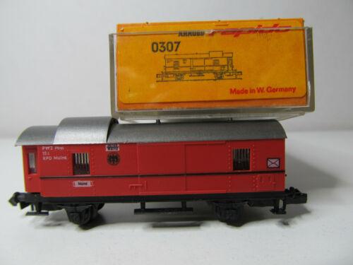 Arnold N 0307 156N top in OVP Gepäckwagen rot der DRG