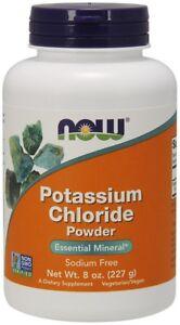 Now-Foods-Polvere-di-cloruro-di-potassio-227g-GRATIS-P-amp-P