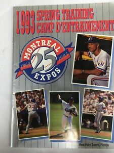 1993-Montreal-Expos-Spring-Training-Program