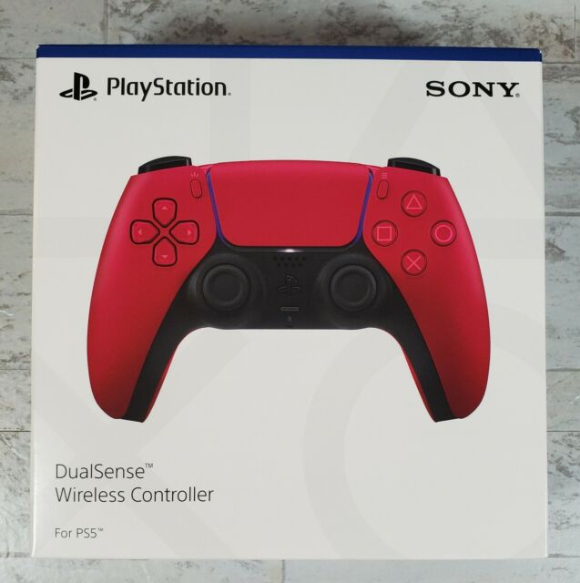 Sony PlayStation 5 DualSense Wireless Controller – Cosmic Red - Sealed